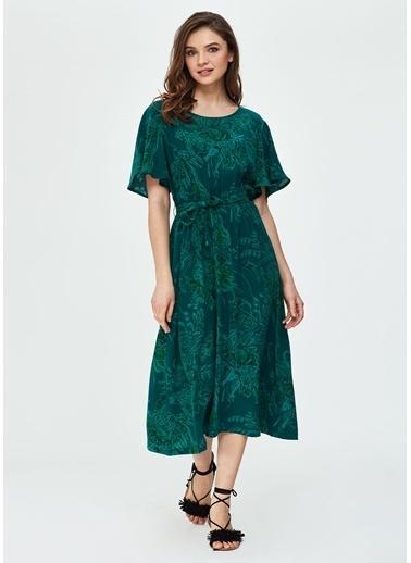 Dagi Ev Elbisesi Yeşil
